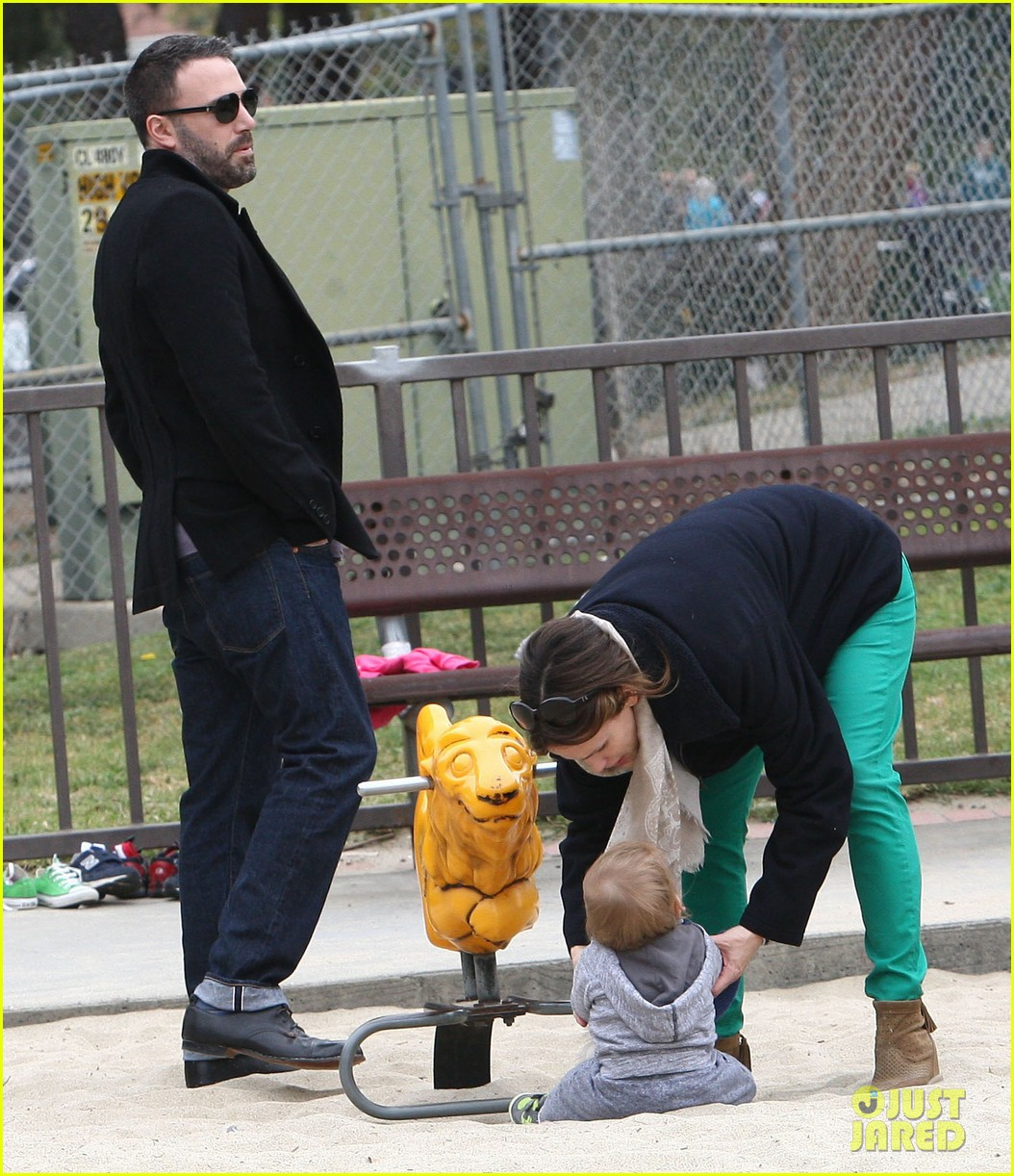 ben affleck jennifer garner family park day 29